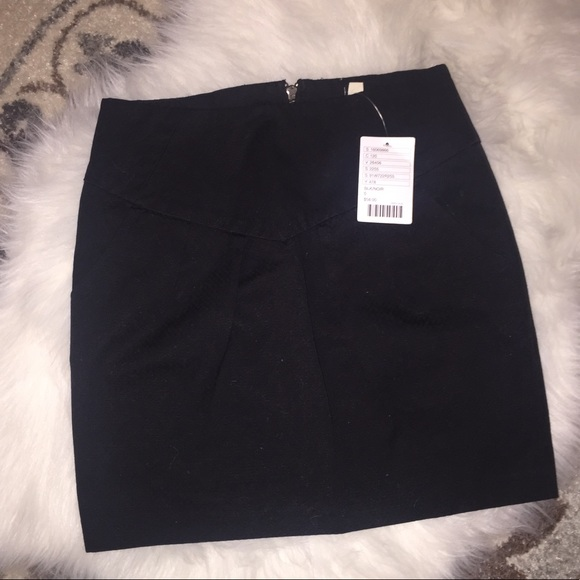 06a1a24acc35 silence + noise Skirts | Uo Silence Noise Black Mini Skirt W Pockets ...